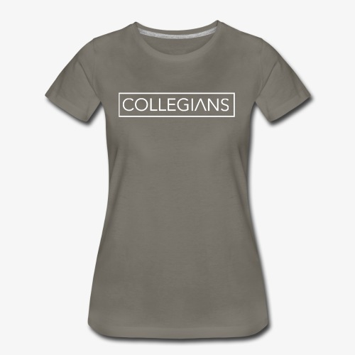 Logo collegians - Women's Premium T-Shirt