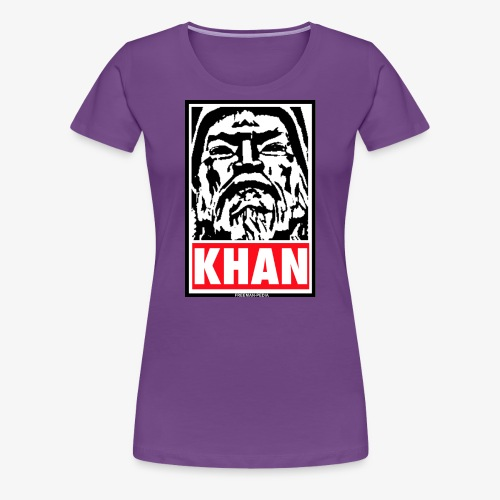 Obedient Khan - Women's Premium T-Shirt