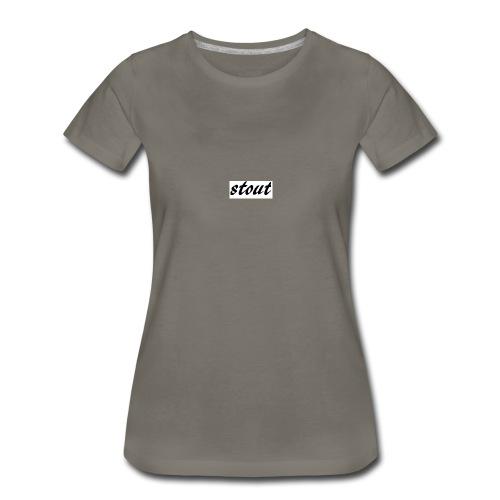 stout - Women's Premium T-Shirt