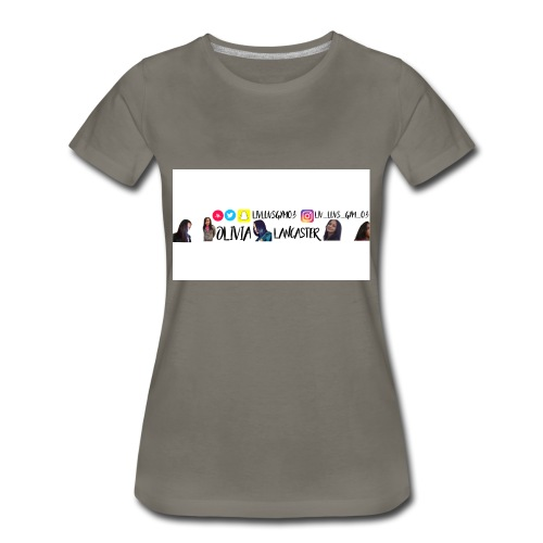 YouTube channel art - Women's Premium T-Shirt