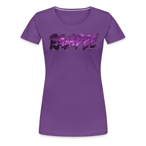 Purple Cloud Rampee - Women's Premium T-Shirt