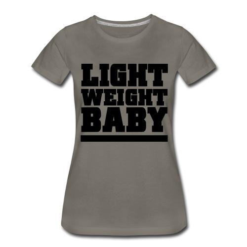 Light Weight Baby Gym Motivation - Women's Premium T-Shirt