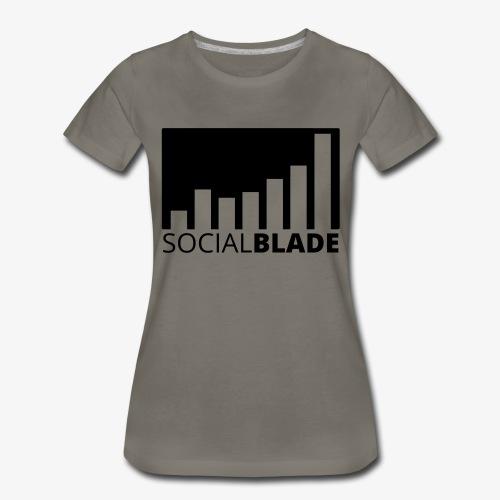 SB Blackout Logo - Women's Premium T-Shirt