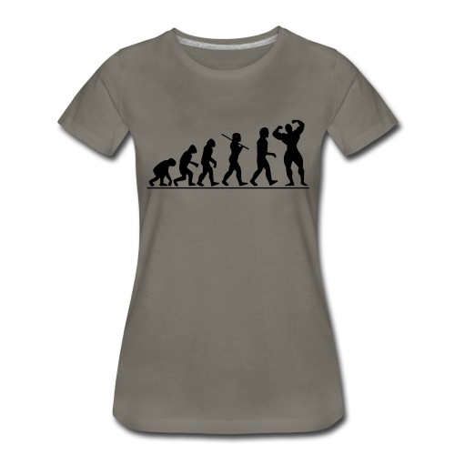 Evolution Gym Motivation - Women's Premium T-Shirt