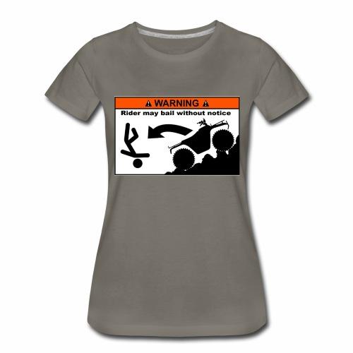 ATV Rider Bail - Women's Premium T-Shirt