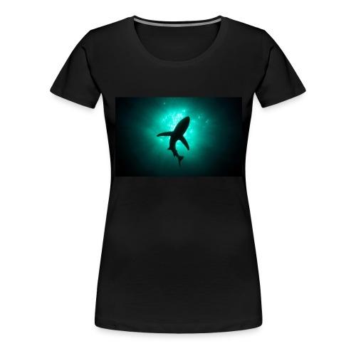 Shark in the abbis - Women's Premium T-Shirt