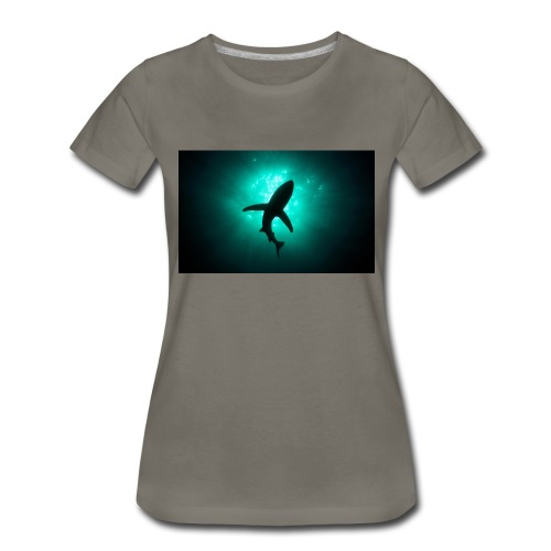 Shark in the abbis - Women's Premium T-Shirt