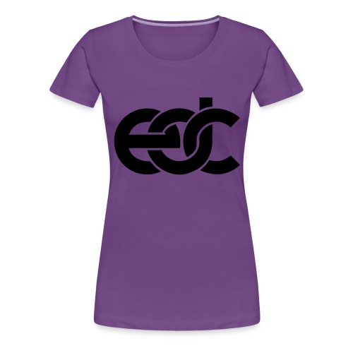 EDC Electric Daisy Carnival Fan Festival Design - Women's Premium T-Shirt