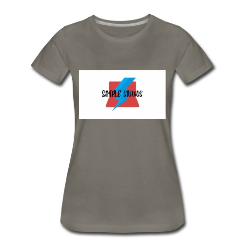 Simple Studios Prototype T-Shirt (White) - Women's Premium T-Shirt