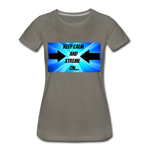 Keep calm and xtreme on - Women's Premium T-Shirt