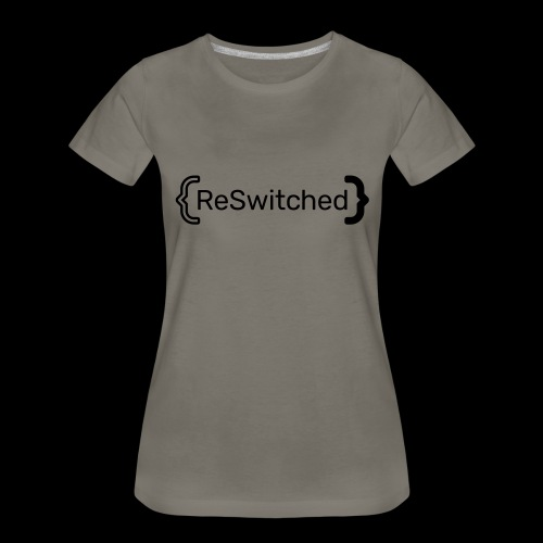 full black reswitched bmx3r - Women's Premium T-Shirt