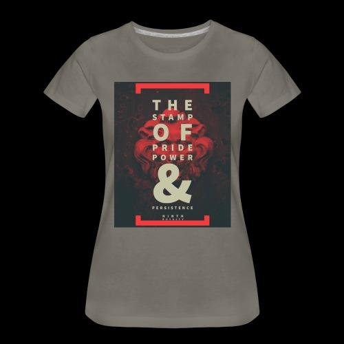 Ninth Royalty Stamp - Women's Premium T-Shirt