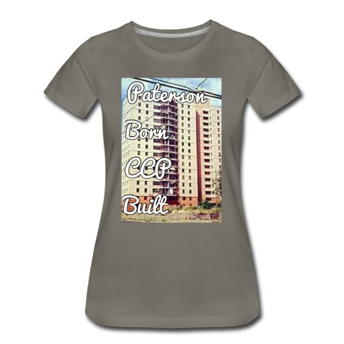 Paterson Born CCP Built - Women's Premium T-Shirt