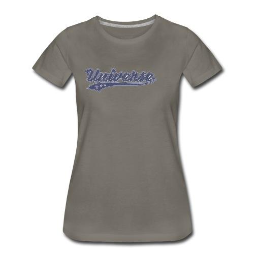 Universe (Retro Color) - Women's Premium T-Shirt