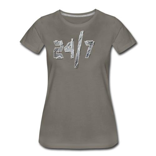 24/7 with ABG - Women's Premium T-Shirt