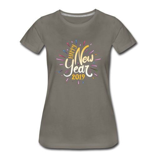 Happy New Year 2019 - Women's Premium T-Shirt