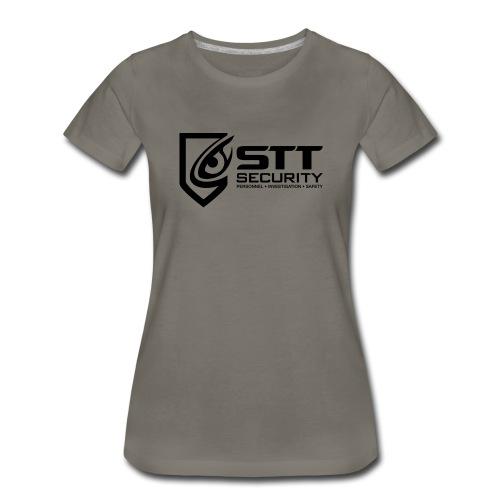 STT Security Logo Black - Women's Premium T-Shirt