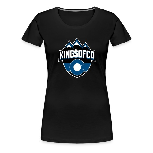 KCO New Logo Clear Background.png - Women's Premium T-Shirt