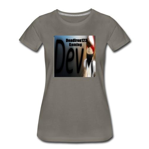 Deadiron123 Gaming Dev Phone case. - Women's Premium T-Shirt