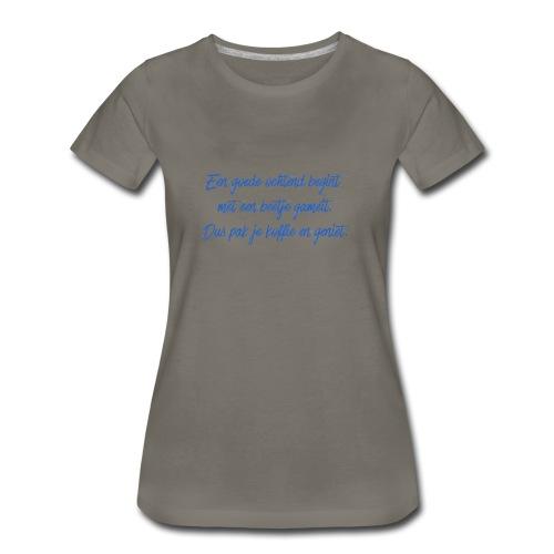 Kopje voor koffie - GAMEIT - Women's Premium T-Shirt