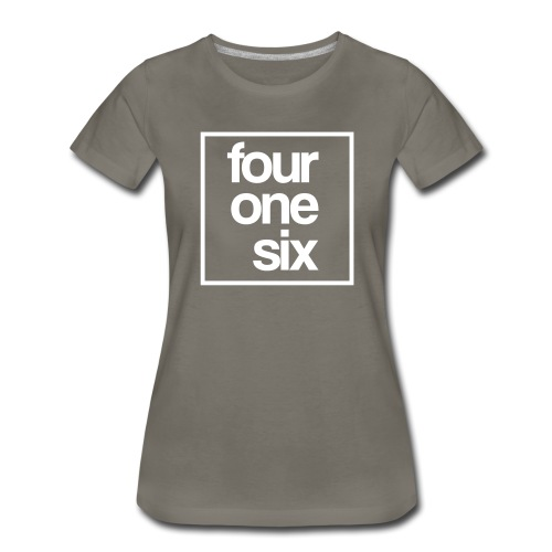 crew neck - four one six - Women's Premium T-Shirt