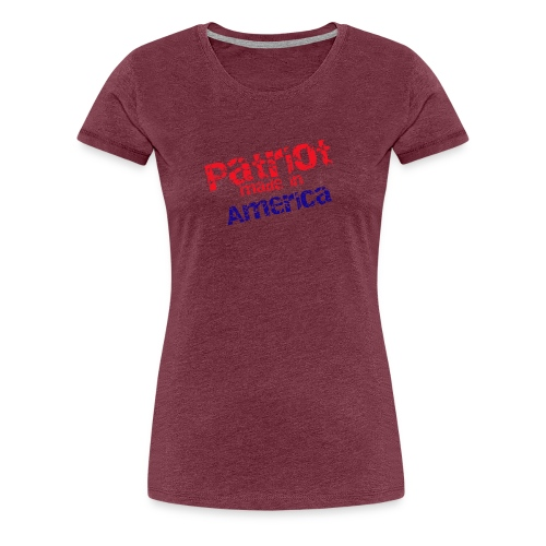 Patriot mug - Women's Premium T-Shirt