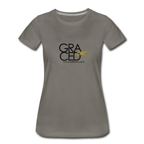 Graced for the Marketplace - Women's Premium T-Shirt