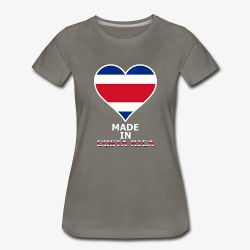 Costa Rica 1 - Women's Premium T-Shirt