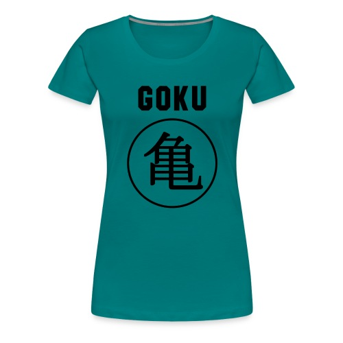 GOKU - TURTLE - Women's Premium T-Shirt