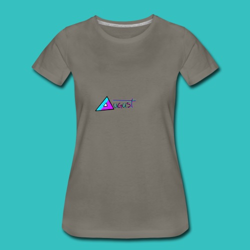 august aquapurp whiteout collection - Women's Premium T-Shirt