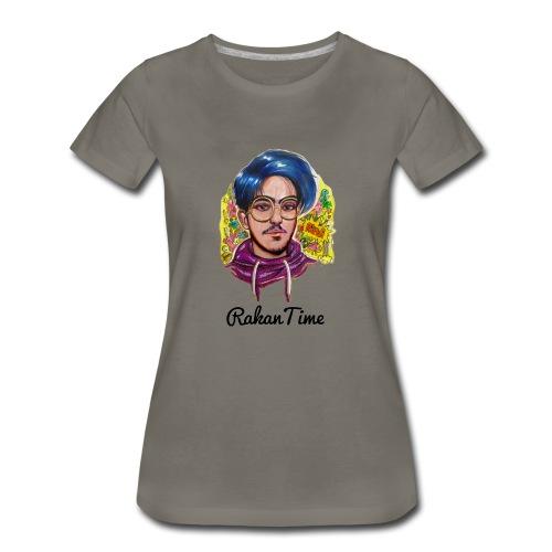 راكان تايم - Women's Premium T-Shirt