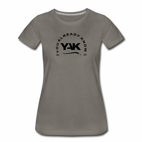 YAK Logos 10 - Women's Premium T-Shirt