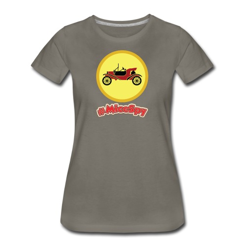 Mr. Toad Motorcar Explorer Badge - Women's Premium T-Shirt