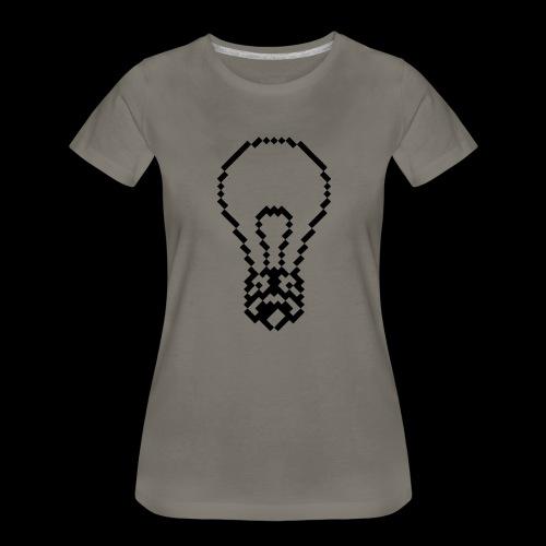 lightbulb by bmx3r - Women's Premium T-Shirt