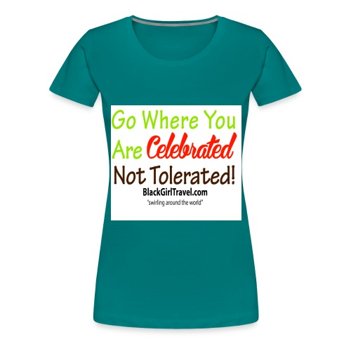 Plain celebrated jpg - Women's Premium T-Shirt