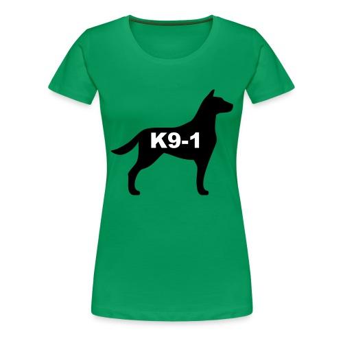 k9-1 Logo Large - Women's Premium T-Shirt