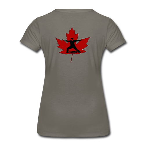 Canadian Warrior - Women's Premium T-Shirt