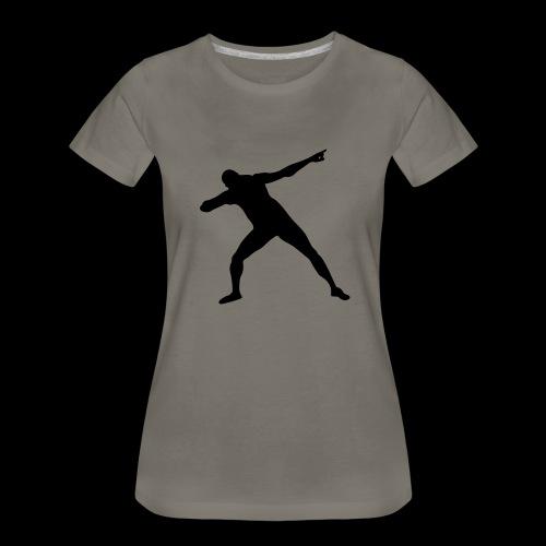 Bolt triumph silhouette - Women's Premium T-Shirt