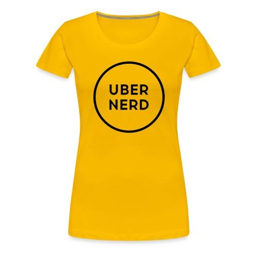uber nerd logo - Women's Premium T-Shirt