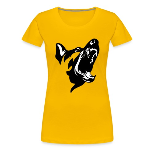 German Shepherd Dog Head - Women's Premium T-Shirt