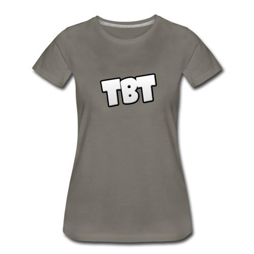 TheTableAtTheBackShirt png - Women's Premium T-Shirt