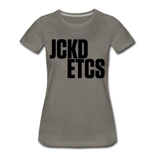 JE_BACK - Women's Premium T-Shirt
