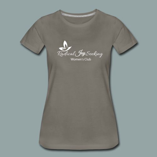 Whitetransp - Women's Premium T-Shirt