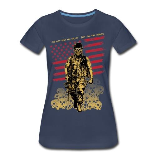 Skull Soldier - Women's Premium T-Shirt