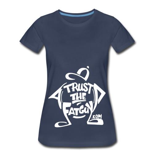 TTFG_White - Women's Premium T-Shirt