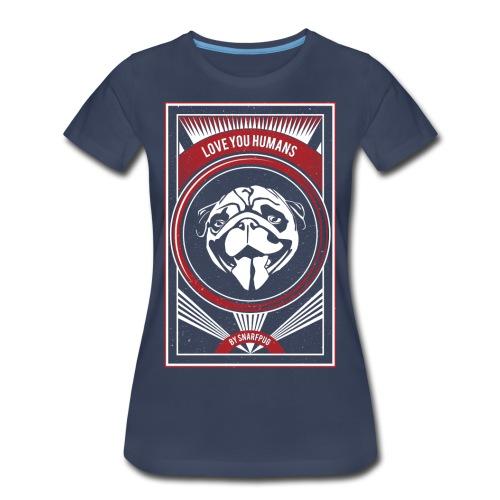 Cool Pug - Women's Premium T-Shirt