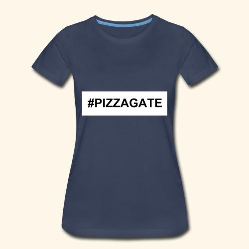 #PIZZAGATE CLASSIC BOX - Women's Premium T-Shirt