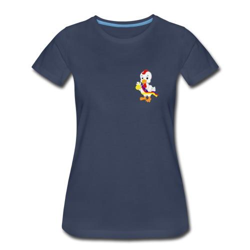 Pungmul Chicken - Kkwaenggwari - Women's Premium T-Shirt