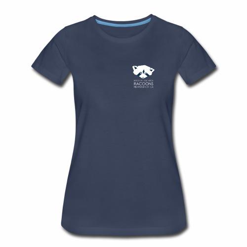 white transp - Women's Premium T-Shirt