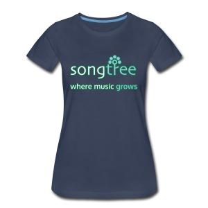 Songtree Logo - Women's Premium T-Shirt